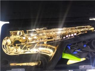 Yamaha saxophone, Puerto Rico