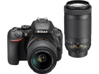 Nikon D5600 Two Lens Kit 18-55mm y 70-300mm, Puerto Rico