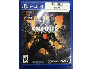 Black ops 4 ps4 game , Puerto Rico