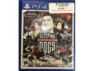 Ps4 sleeping dogs game , Puerto Rico