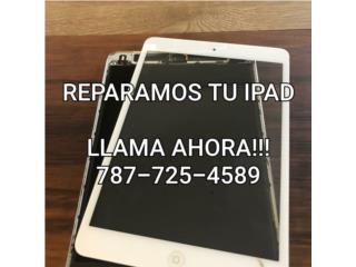 PANTALLAS Y CRISTALES PARA TODO TIPO DE IPAD!, Puerto Rico