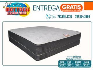 Set de mattress, Modelo Brilliance., Puerto Rico