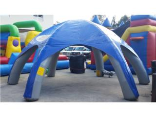 Carpa inflable, Puerto Rico