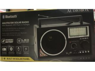 RADIO AM / FM / SW / SOLAR AUDIOBOX, Puerto Rico