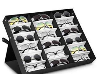Sunglasses Display Case 18 Slot Sunglass Eyew, Puerto Rico