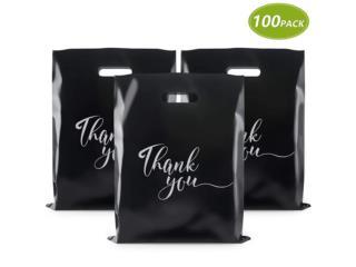 MERCHANDISE BLACK BAGS 12 X 15, Puerto Rico