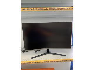 "Samsung 32"" pantalla curva, Puerto Rico"