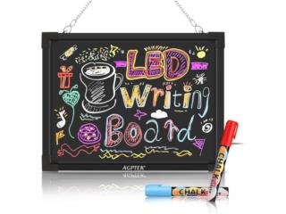 LED MESSAGE WRITING BOARD 16x12, Puerto Rico