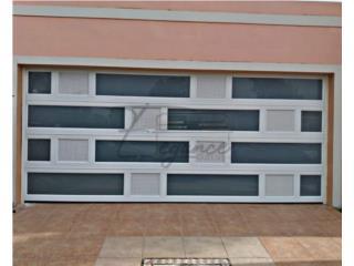 PUERTAS DE GARAJE DOBLE MARQUESINA REFORZADA, Puerto Rico