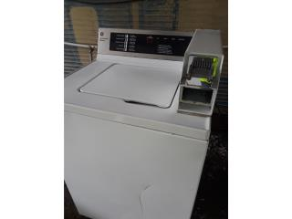 lavadora laundry de pesetas ge comercial  imp, Puerto Rico