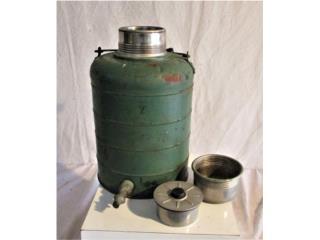 Stanley Water Cooler de los 1950's, Puerto Rico