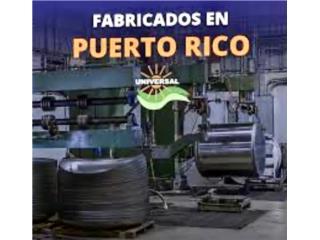 Cisternas de reserva de agua y calentadores!, Puerto Rico