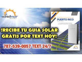 SOLICITA LA GUIA SOLAR HOY POR TEXT GRATIS☎️, Puerto Rico