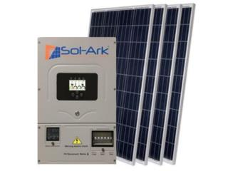SolArk 12k con 32 Paneles  Battery Ready MN, Puerto Rico