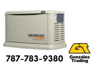 Generadores Generac (Renta o Venta), Puerto Rico