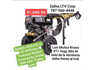 4400PSI Gas Pressure Washer honda $1,049.99, Puerto Rico