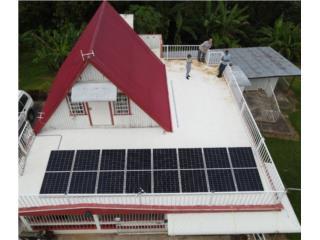 Variedad de equipos solares al mejor precio. , Puerto Rico