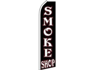 Banner SMOKE SHOP 3' X 11'.5, Puerto Rico