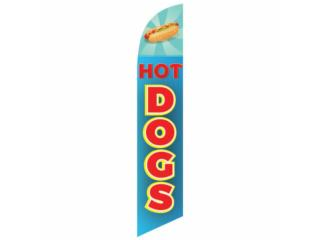 BANNER HOT DOGS BLU/RD/YW 2.5, Puerto Rico