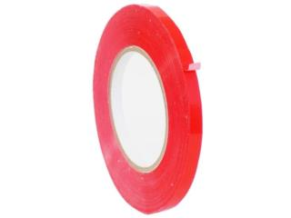 PVC RED PRODUCE POLY BAG TAPE, Puerto Rico