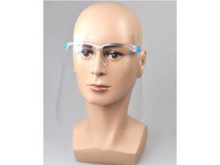 Face Shield With Glasses $3 c/u, Puerto Rico