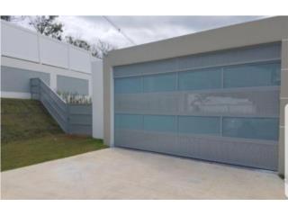 Puertas de Garage 108x84 En Color Blanco, Puerto Rico