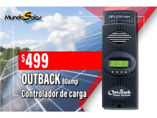 Charger Controller OUTBACK 80amp, Puerto Rico