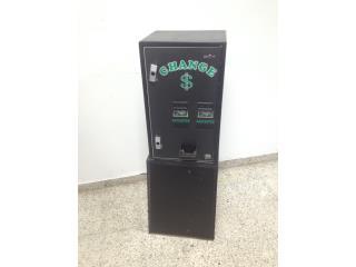 Change Machine / Maquina de Cambio, Puerto Rico