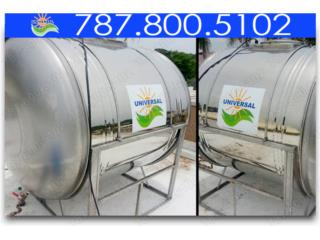 TANQUES STAINLESS STEEL HORIZONTAL UNIVERSAL, Puerto Rico