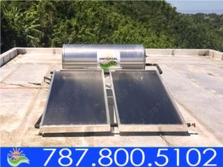 CALENTADOR SOLAR UNIVERSAL 120 GLS, Puerto Rico