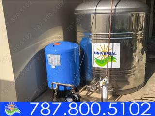 TANQUE STAINLESS STEEL UNIVERSAL 600 GLS, Puerto Rico