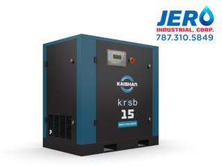 Compresor de Tornillo KAISHAN USA KRSB 5-50HP, Puerto Rico
