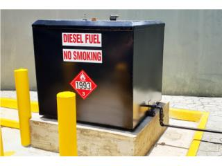 Tanque Diesel - Pared Sencilla o Doble Pared, Puerto Rico