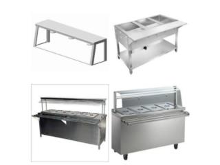 STEAM TABLES STAINLESS STEEL, Puerto Rico