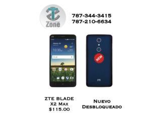 ZTE BLADE X2 MAX, Puerto Rico