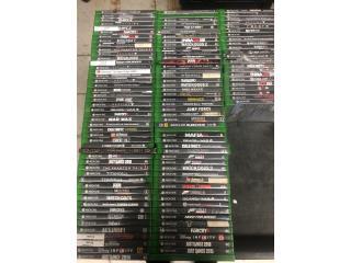 Variedad de juegos Xbox one , Puerto Rico