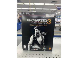 Uncharted 3 collectors edition , Puerto Rico