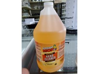 SERGEANT ANTI BACTERIAL HAND CLEANER, Puerto Rico