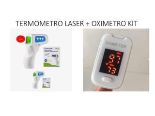 Termometro Laser + Oximetro Kit , Puerto Rico