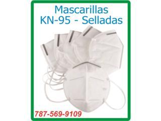 Mascarillas KN-95 Alta Calidad $2.00 c/u, Puerto Rico