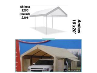 CARPAS 10'x20' PRECIOS EN LA IMAGEN , Puerto Rico