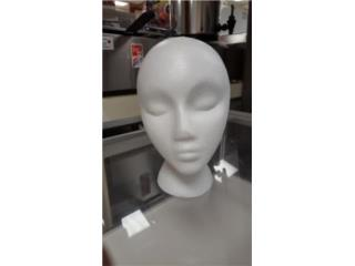 Foam Mannequin Heads for Hair Wigs, Puerto Rico