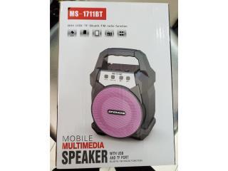 MOBILE MULTIMEDIA SPEAKER W/USB PORT, Puerto Rico