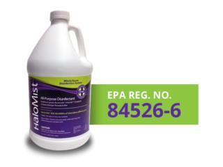HaloMist Disinfectant - Medical Grade & EPA, Puerto Rico
