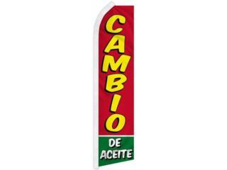 BANNER CAMBIO DE ACEITE 2.5 x 11.5F, Puerto Rico
