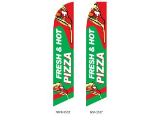 BANNER FRESH HOT PIZZA 2.5 X 11.5, Puerto Rico