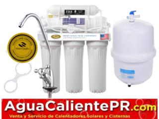 Máquina de Rivers Osmosis no compre más agua, Puerto Rico