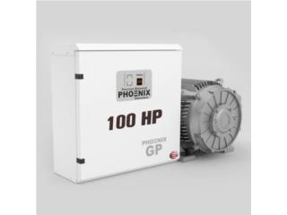 10 a 100 HP - Convertidor de Fase - 1PH A 3PH, Puerto Rico