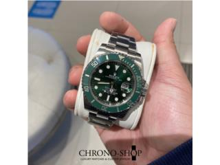 "Rolex Submariner ""Hulk"" Discontinued , Puerto Rico"