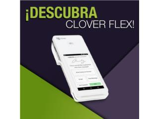 CLOVER FLEX solución rápida y sencilla, Puerto Rico